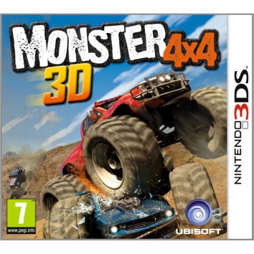 Nintendo 3DS - Monster 4x4 3D für €10,59 [@TheHut.com]