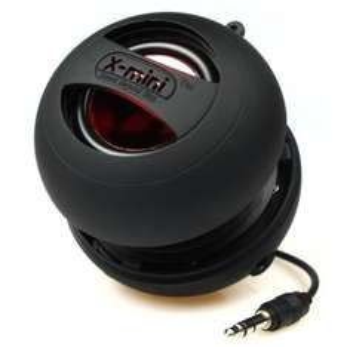 X-Mi X Mini II Capsule-Lautsprecher der 2. Generation für iPhone / iPad 2/3 / iPod / MP3 / Laptop - Schwarz für 19,99 EUR inkl. Versand @ Amazon.de
