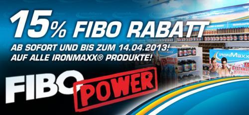 Fitness/Krafttraining: Ironmaxx.de. Fibo-Rabatt in Höhe von 15%, bis zum 14. April 2013