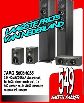 Jamo S 608 HCS3 5.0 - Abholpreis NL-Arnheim