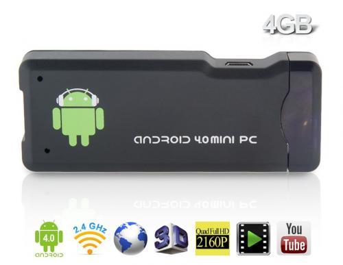 Android 4.0 TV-Sticks für 23,40€ bzw. 28,84€ aus China