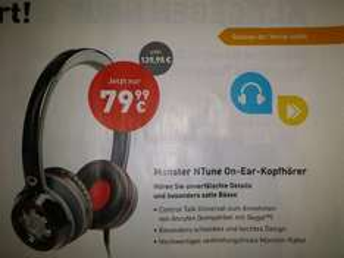 Monster NTone Kopfhörer lokal???? 79,99€