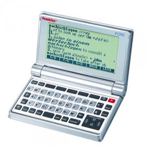 Franklin PSW-475 Multiwörterbuch in Deutsch/Englisch/Französisch mit PONS für nur 33,33 EUR inkl. Versand
