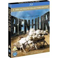 (UK) Ben Hur: 50th Anniversary Ultimate Collectors Edition Box Set (3 Discs) (Blu-ray) für 9,01€ @ Play (zoverstocks)