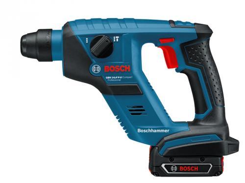 BOSCH Bohrhammer GBH 14,4 V-LI Compact mit 2 Akkus Ersparnis 85 €