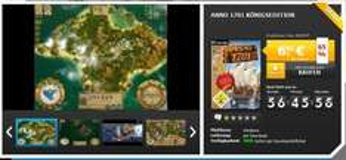 [Gamesrocket] Anno 1701 Königsedition für 6,95 €