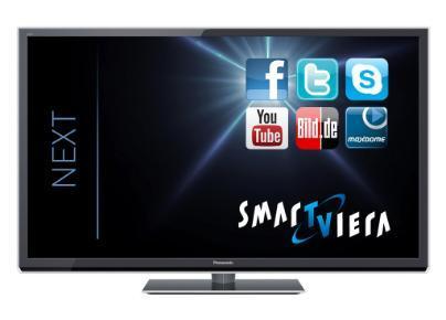 [ MM Stade  ] 65 Zoll  Panasonic TX-P65STW50 (3D-Plasma-TV, Full HD, DVB-T/-C/-S2) Smart VIERA NeoPlasma