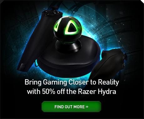 Razer Hydra Controller für 58,77 EUR inkl. Versand.