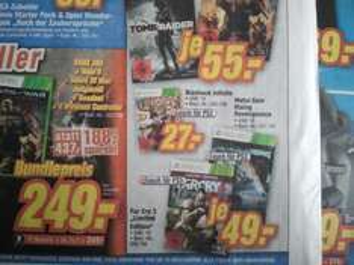 Bioshock Infinite für 27€ (XBox 360 und PS3) @ TeVi Nürnberg
