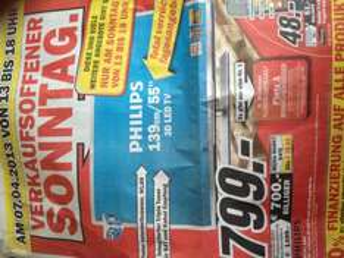 Verkaufsoffener Sonntag Mediamarkt Worms u.A. 3d LED TV, Nintendo Wii,... [LOKAL]