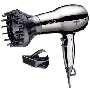 Remington Ti 2000 Ionen-Haartrockner mit Diffusor, 2000 Watt