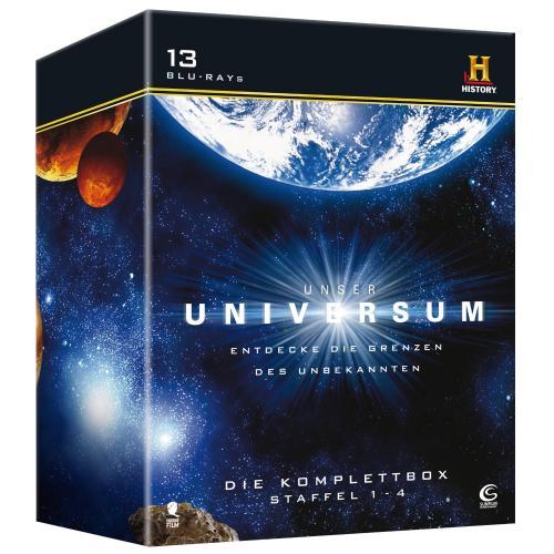 Unser Universum - Die Komplettbox (Staffel 1 - 4 mit 13 BDs) [Blu-ray]