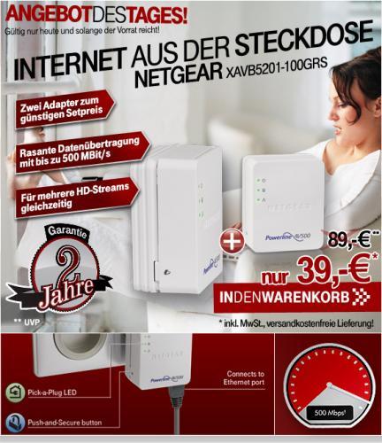 NETGEAR XAVB5201-100GRS für 39€ @004.de (ehemals T-Online-Shop)