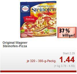 [Lokal] Wagner Steinofenpizza ab 8.4. @Kaufland Rüsselsheim
