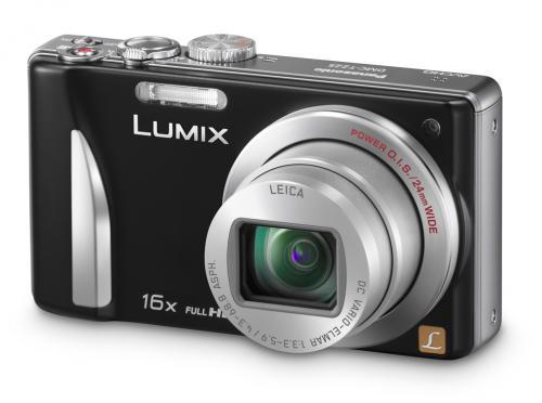 Panasonic Lumix DMC-TZ25 (schwarz) inkl. 4GB Speicherkarte von QVC UK nur 127 Euro!!!