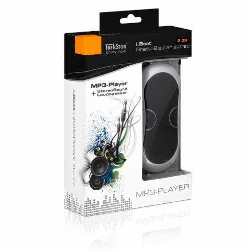 Trekstor i.Beat GhettoBlaster stereo (B-Ware - beschädigte Verpackung)