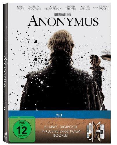 Anonymus (DigiBook, exklusiv bei Amazon.de) [Blu-ray] für 8,97€