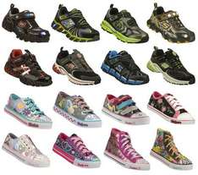 Skechers Kinderschuhe: 16 verschiedene Modelle, verschiedene Größen für 24,99 Euro inkl. Versand
