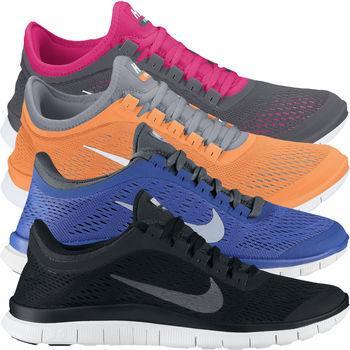 [Damen] Nike Ladies Free 3.0 V5 Laufschuhe - brandneue 2013er Version für 75,23€ @ Wiggle