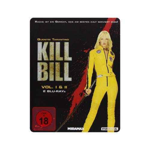 [Amazon Österreich] Kill Bill: Volume 1+2 - Steelbook [Blu-ray]