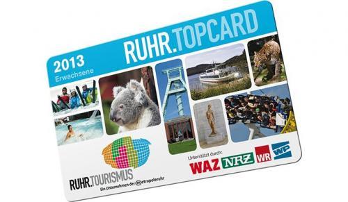 Ruhr Top Card 2013 für 44,90 EUR inkl. 1x Freizeitpark Eintritt