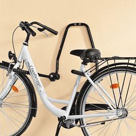 [Kaufland offline] Wandhalter (u.a. für mehrere Fahrräder) - in verschiedenen Positionen anklappbar (auch vollständig anklappbar) - auch gut zur Reparatur des Rades