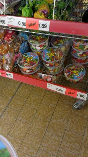Haribo Ostermix 800g Dose für nur 0,90€  @ Aldi Nord - an der Badensche Str. (lokal Berlin)