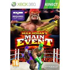(UK) Hulk Hogan's Main Event [Xbox Kinect] für ca. 11.87€@ Amazon.uk