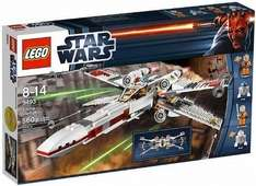 LEGO Star Wars 9493: X-Wing Starfighter Amazon.uk  ca. 41€