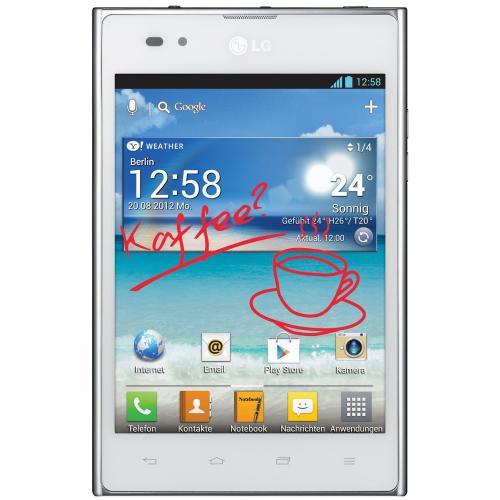 LG P895 Optimus Vu 5Zoll (ähnlich Galaxy Note 2 mit Stift) 238,43€ WHD