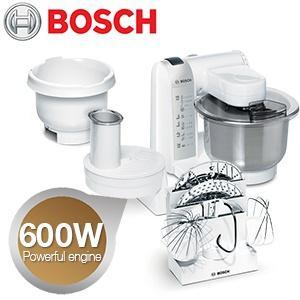 Bosch Küchenmaschine MUM 4835 mit viel Zubehör @ibood