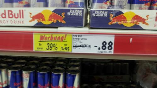 [Lokal Nürnberg] Red Bull 0,25l für 0,88€