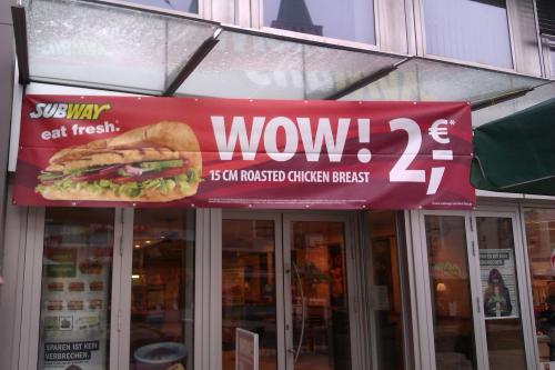 [Lokal Kassel] Subway 15 cm Roasted Chicken Breast