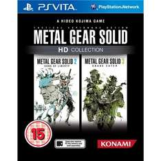 PS Vita - Metal Gear Solid: HD Collection für €17,59 [@WowHD.de]