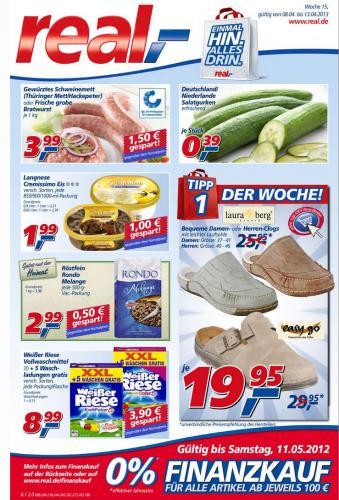 Laura Berg Herren Clogs bei real Dresden /Bannewitz