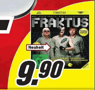 [Lokal HH]  DVD - Fraktus - Das letzte Kapitel der Musikgeschichte bei MM