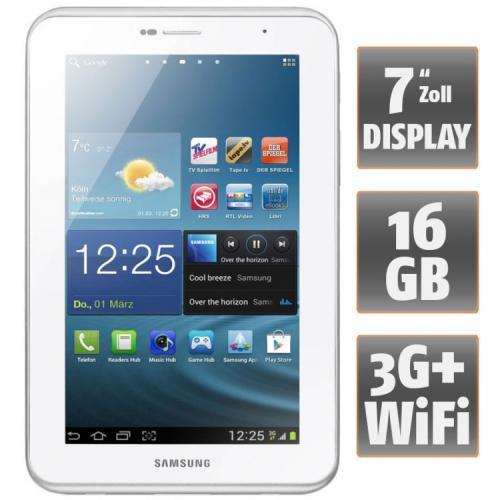 SAMSUNG Galaxy Tab 2 7.0 Wi-Fi + 3G 16GB