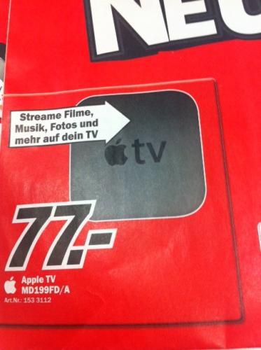 Lokal: APPLE TV 77€