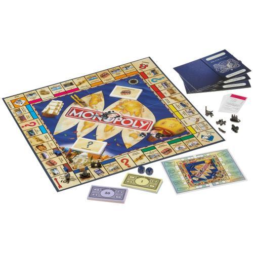 Monopoly Weltreise für 19,99 Euro + 9% Qipu @Galeria Kaufhof