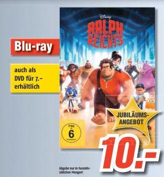 Blu-Ray - Ralph reichts für €10.- [@Medimax Kiel]