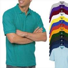 3er Set Polo-Shirts von Fruit of the Loom in versch. Farben  für 19,99€ frei Haus @DC