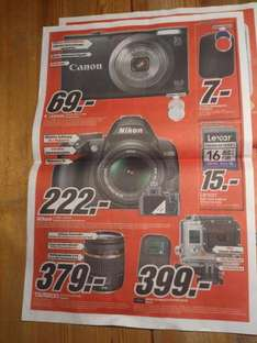 [lokal] Nikon D3000 Kit 222€, DeLonghi EN520B 259€, AppleTV 89€, MacbookPro 13 999€, iPad Mini 16GB WiFi 299€