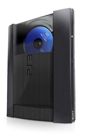 Sony Playstation 3 PS3 Super Silm 12GB schwarz + Dualshock Controller
