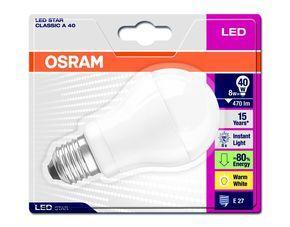 6ER PACK OSRAM E27 LED GLÜHBIRNEN @meinpaket