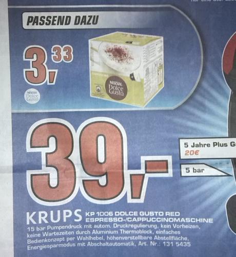 [Saturn Dortmund, Lünen, Soest] Dolce Gusto Kapseln