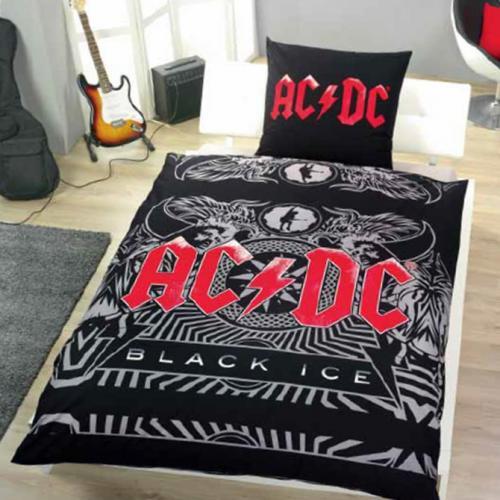 "AC/DC ""Black Ice"" Bettbezug (Kissen + Bettdecke) 150 x 200 cm für 21,99€ @ DC"
