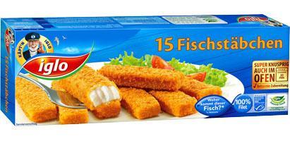Iglo Fischstäbchen für 1,49 statt 2,49 - Kaufland bundesweit