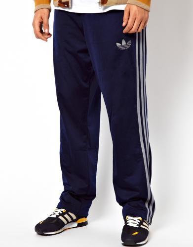 Adidas Firebird Hose Marineblau S-XL @asos
