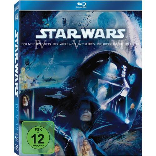 [Blu-ray] Star Wars Trilogie (Episode IV-VI) für 30,01€ @ Conrad