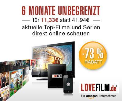LOVEFiLM: unbegrenzter Filmgenuss